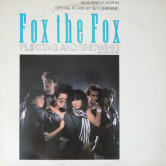 """Fox The Fox - Flirting And Showing (New Edit And Mix) (12"""", Maxi)"""
