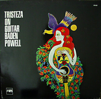 Baden Powell - Tristeza On Guitar (LP, Album, RE, Gat)