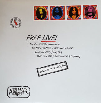 Free - Free Live! (LP, Album, RE, Env)