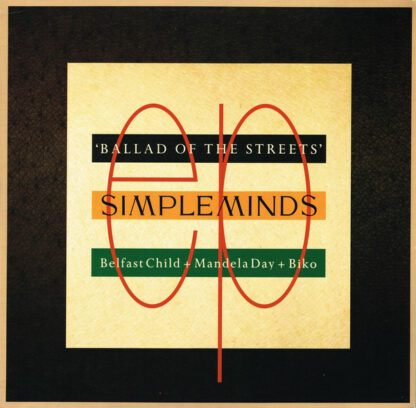 """Simple Minds - Ballad Of The Streets (12"""", EP)"""