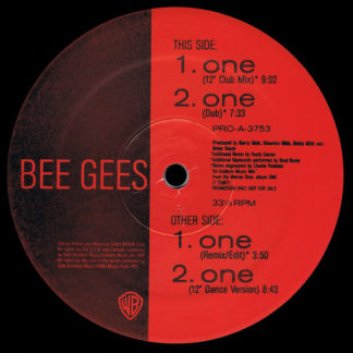 "Bee Gees - One (12"", Promo)"