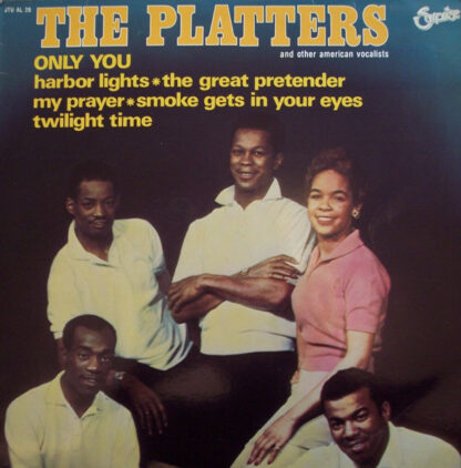 Various - The Platters And Other American Vocalists (LP, Comp)