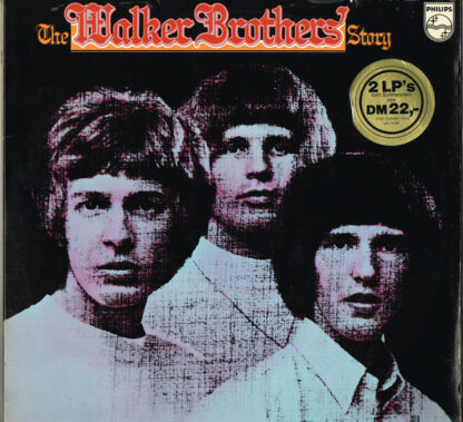 The Walker Brothers - The Walker Brothers Story (2xLP, Comp, RE)