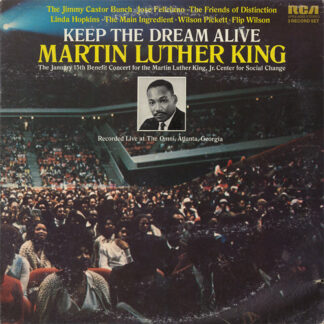 Various - Keep The Dream Alive Martin Luther King (2xLP, Album, Gat)