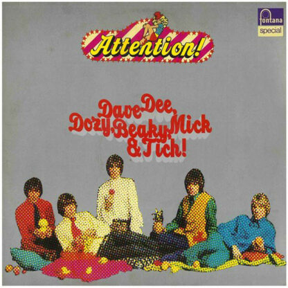 Dave Dee, Dozy, Beaky, Mick & Tich - Attention! Dave Dee, Dozy, Beaky, Mick & Tich (LP, Comp, RE)