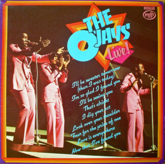 The O'Jays - Live! (LP, Album, RE)