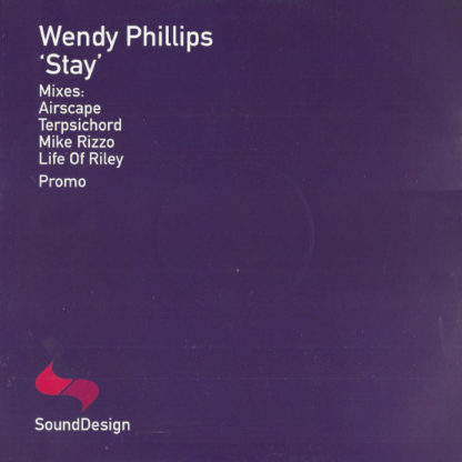 """Wendy Phillips - Stay (12"""", Promo)"""
