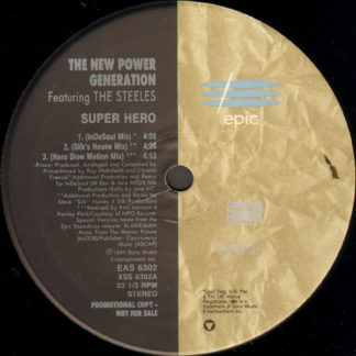 "The New Power Generation Featuring The Steeles - Super Hero (12"", Promo)"