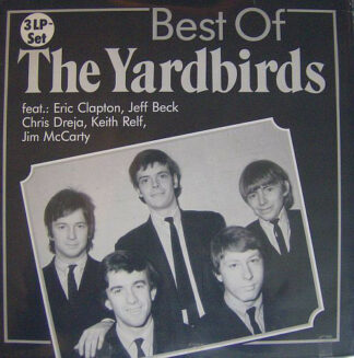 The Yardbirds - Best Of The Yardbirds (3xLP, Comp)