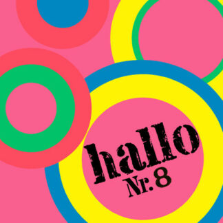 Various - Hallo Nr. 8 (LP, Comp)