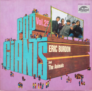 Eric Burdon And The Animals* - Pop Giants, Vol. 25 (LP, Comp)