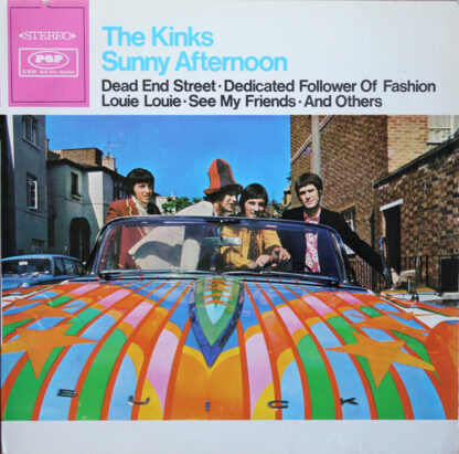 The Kinks - Sunny Afternoon (LP, Comp)