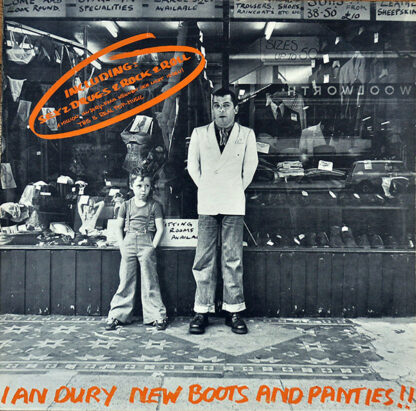 Ian Dury - New Boots And Panties!! (LP, Album, RE)
