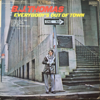 B.J. Thomas - Everybody's Out Of Town (LP, Album, Gat)
