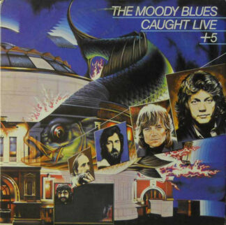 The Moody Blues - Caught Live +5 (2xLP, Album, W -)