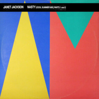 "Janet Jackson - Nasty (Cool Summer Mix) Parts 1 And 2 (12"")"