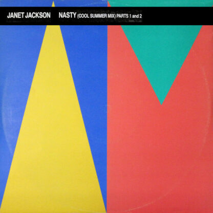 """Janet Jackson - Nasty (Cool Summer Mix) Parts 1 And 2 (12"""")"""