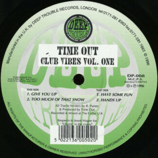 """Time Out - Club Vibes Vol. One (12"""")"""
