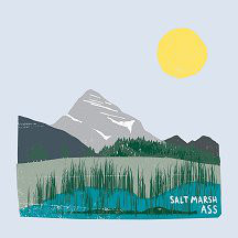 Ass (2) - Salt Marsh (LP, Album, Ltd, Whi)