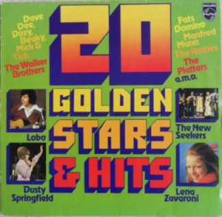 Various - 20 Golden Stars & Hits (LP, Comp, Club)