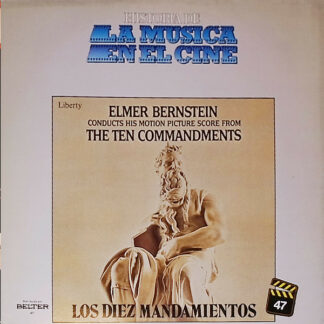 Elmer Bernstein - Elmer Bernstein Conducts His Motion Picture Score From The Ten Commandments (LP, Album)