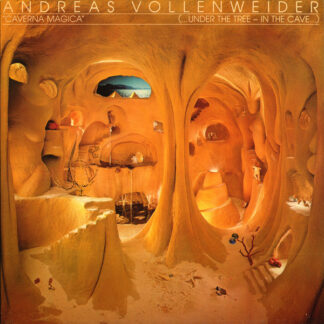 Andreas Vollenweider - Caverna Magica (...Under The Tree - In The Cave...) (LP, Album, Hal)
