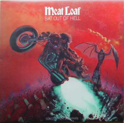 Meat Loaf - Bat Out Of Hell (LP, Album, RE)