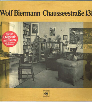 Wolf Biermann - Chausseestraße 131 (LP, Album, RE)