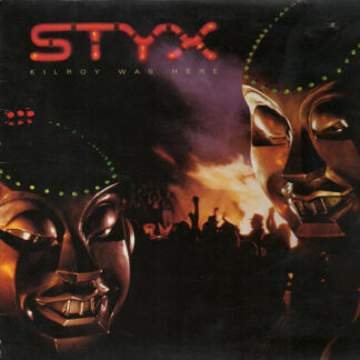 Styx - Kilroy Was Here (LP, Album, Gat)